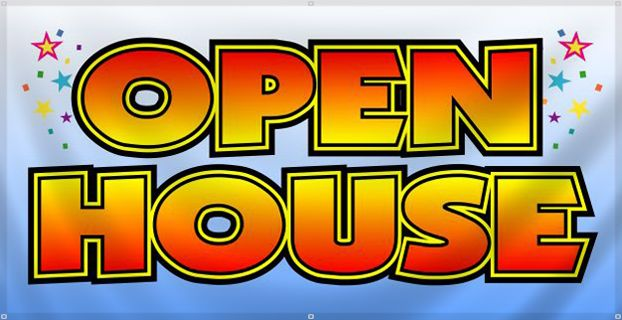 free clip art open house - photo #16